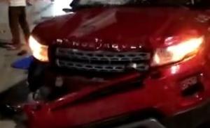 衡东驾车撞人案嫌犯被批捕,涉嫌以危险方法危害公共安全罪