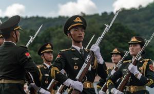 香港各界中秋慰問駐港部隊官兵,21年從未間斷