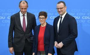 同观·德国|基民盟明天选出新主席,德国政治面临何种变局?