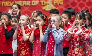 城事·年味 吟古诗、写春联,外籍学生在沪体验中国春节民俗