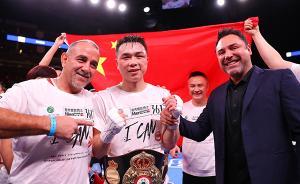 徐灿6月或迎拳王卫冕战,这次他能给约书亚打副赛了