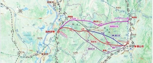 安徽池黄、宣绩两条高铁可研报告获批,时速均为350公里