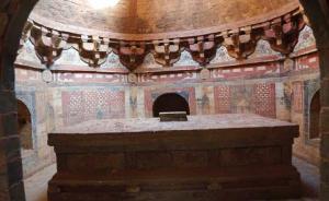 河南安阳首次发现金代高僧壁画墓