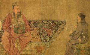 赏析|从服饰分析与比较,重读古代绘画《石勒听讲图》