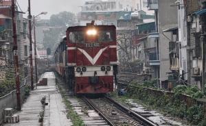 滇越铁路越南段:慢车去海防