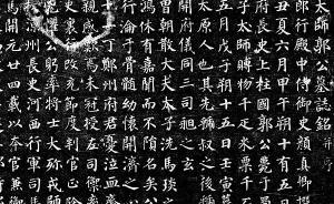 颜真卿早期书法已很少见,张旭惟一墓志楷书就更罕见了