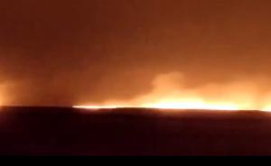 中俄边境满洲里周边发现火情,多条道路已实行交通管制