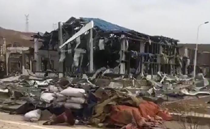 内蒙古乌兰察?#23478;?#21270;工企业发生爆燃,已致3死5伤