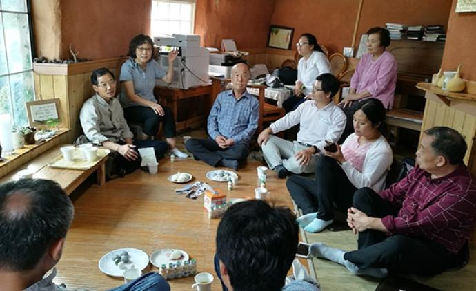 韩国农村参访纪③|花最少的钱,过最有尊严的生活