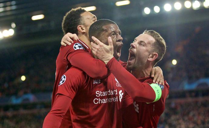 奇迹!3球落后3将缺阵仍不惧梅西,利物浦4球逆转巴萨