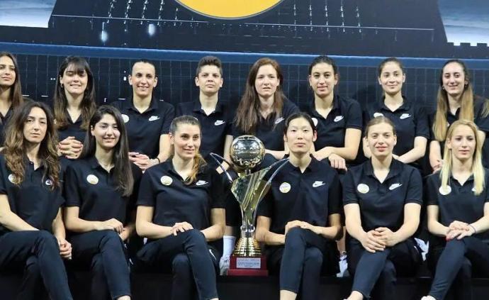 3年8冠,土耳其瓦基弗银行队官宣中国球员朱婷离队