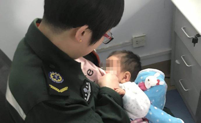 暖聞|濟南一女護士為患者5個月大孩子喂奶:我也是母親