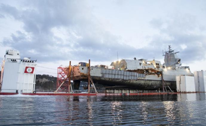 """""""英斯塔""""號打撈出水維修費超新艦,挪威海軍或棄修增購潛艇"""