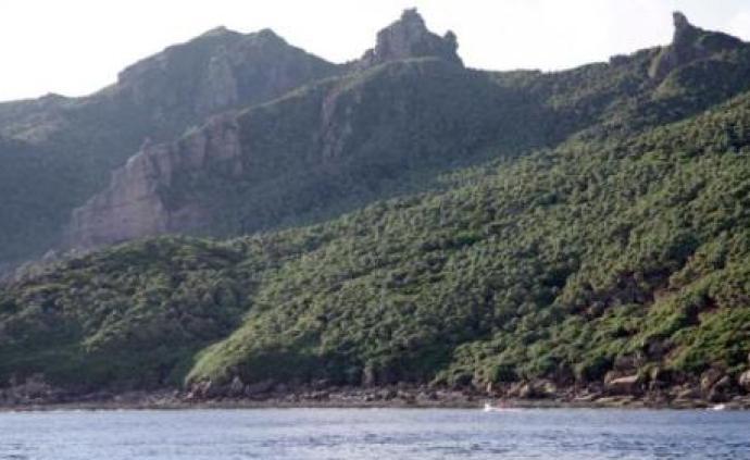 中國海警艦艇編隊5月20日在我釣魚島領海巡航
