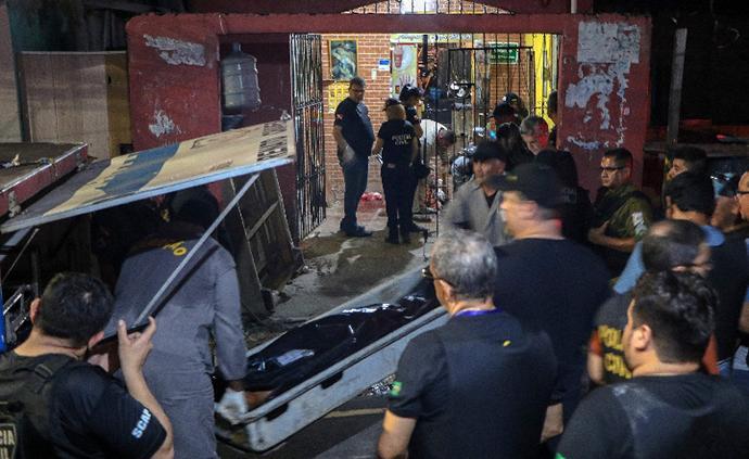 巴西一酒吧槍擊事件致死11人