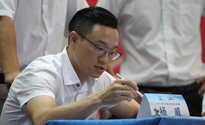 從領獎臺走上裁判席,楊威:中國體操會在東京奧運復蘇