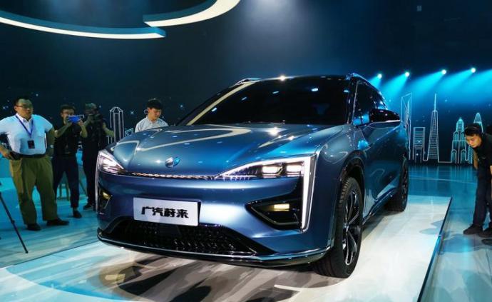 """广汽与蔚来的新车品牌命名""""合创"""",量产车计划明年上市"""