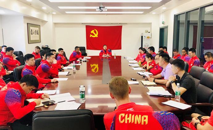 國乒召開反興奮劑會議,劉國梁:干干凈凈是最重要的任務