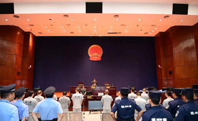 廣東一涉黑組織集村霸、林霸、賭霸、沙霸于一身,20人被判