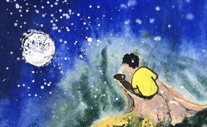 """一幅幅畫作背后,藏著""""星星的孩子""""的故事"""