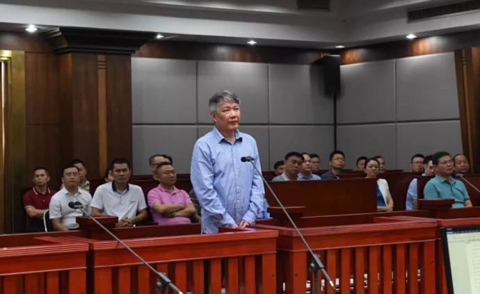 海南省人民醫院原院長被控受賄573萬,當庭認罪并表示懺悔