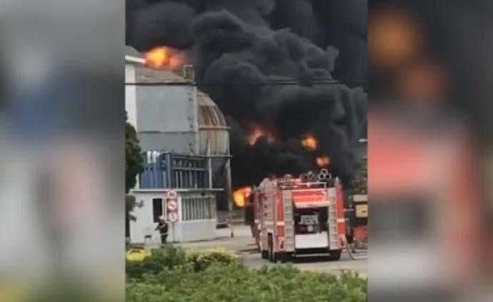 寧波一燃料化工廠油罐著火,兩名施工單位職工確認死亡