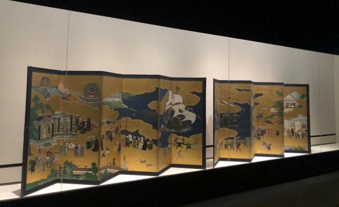 """日本与西洋的初遇之美,台北故宫呈现神户文物与""""南蛮艺术"""""""