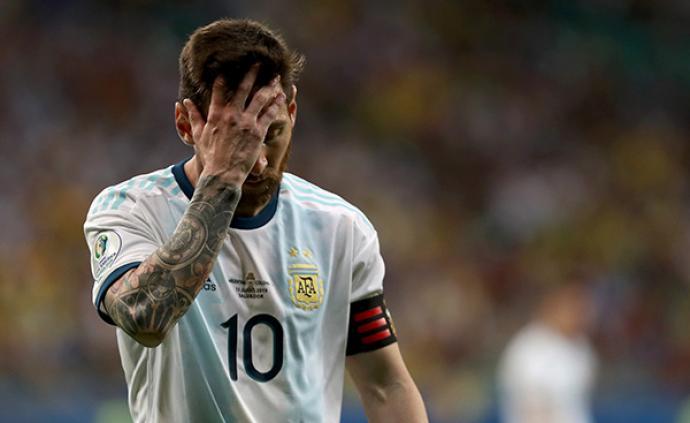 体坛联播│梅西带不动这支阿根廷,日韩无缘封王土伦杯世青赛