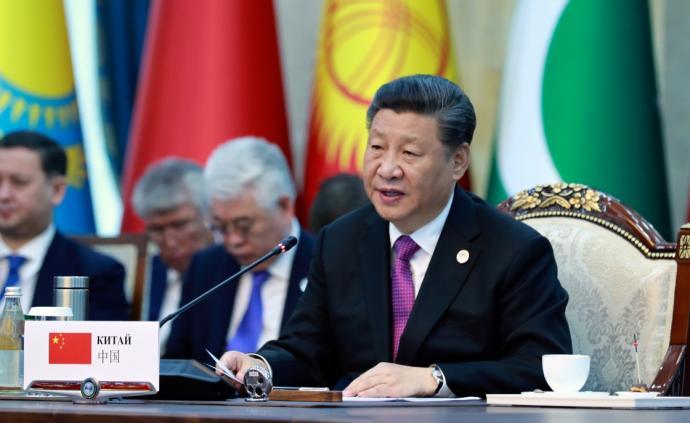 高光时刻:习主席访问吉、塔并出席上合、亚信峰会图片集锦