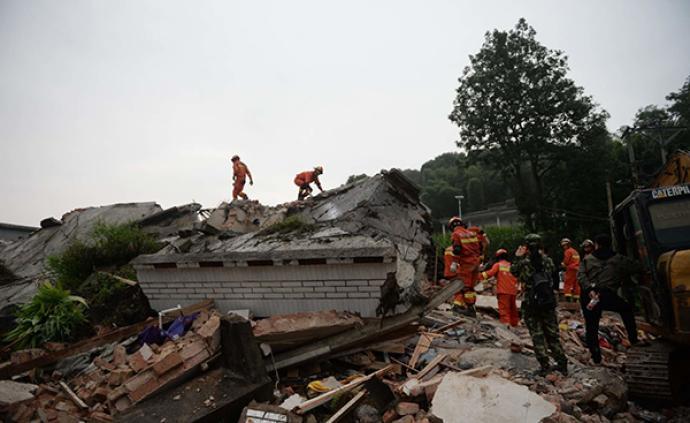 四川长宁已记录到余震62次,其中5.0-5.9级2次