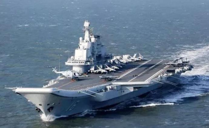 """日媒:日本发现""""辽宁舰""""穿越宫古海峡进入太平洋"""