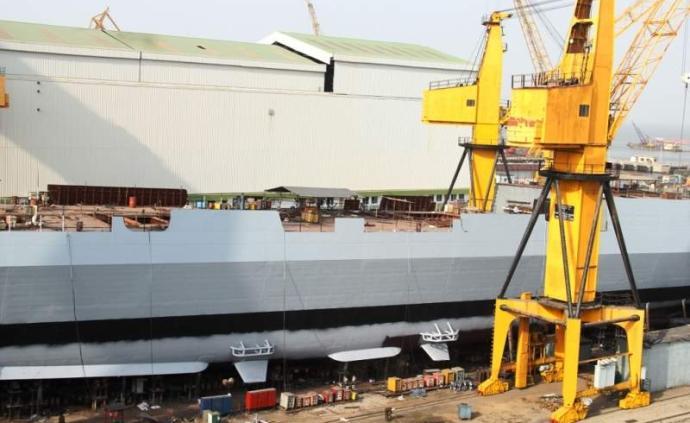 印度一艘在建隐身战舰突发大火,造成一人死亡