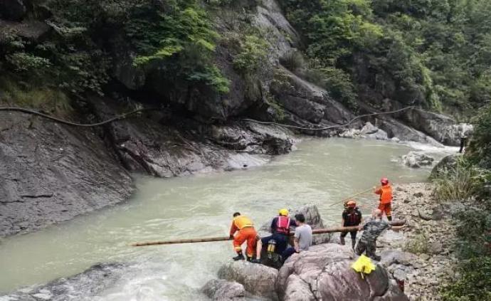溫州山洪失聯消防員周錦勇遺體被發現