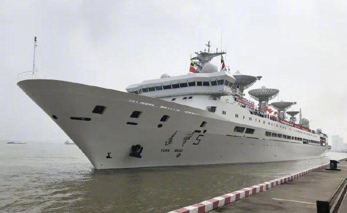 遠望5號航天測量船出港,中國航天即將迎來發射任務