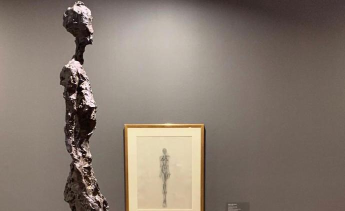 """賈科梅蒂與""""穿越時間""""的焦慮: 加拿大回顧其藝術生涯"""