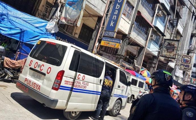 菲律賓馬尼拉中國城附近發生銀行搶劫案,市長懸賞緝兇