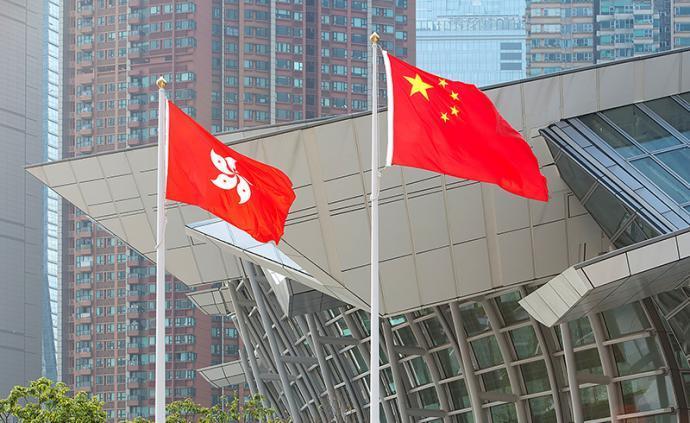 香港中聯辦主任:法治和安定是香港的根本福祉、最大福祉