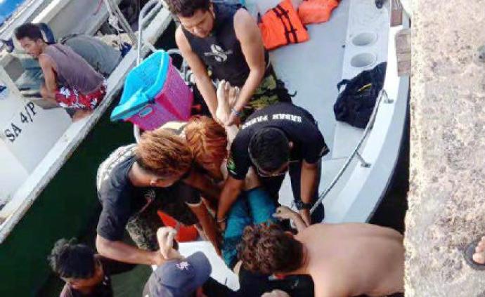 马来西亚警方谈中国游客被鱼炮炸死案:或死于蓄意谋杀