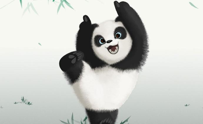這只叫泰山的熊貓,不簡單