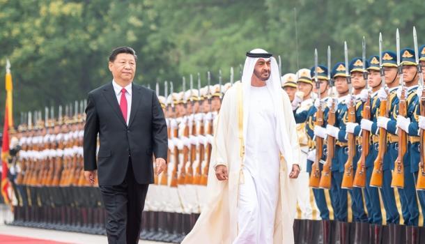 习近平举行仪式欢迎阿联酋阿布扎比王储访华并同其会谈