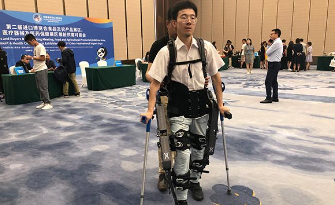 创新药、康养区、可穿戴机器人……进博会按下医药发展加速键
