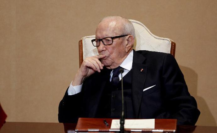 """总统离世之后:突尼斯三党逐鹿,民生恐成""""房间里的大象"""""""