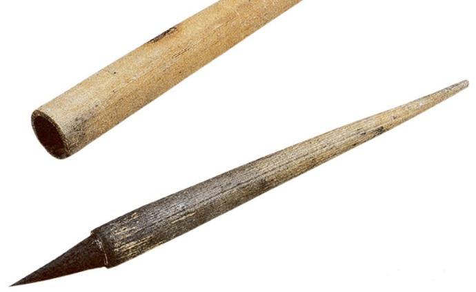 """魏晋时期的文房器用:""""一点如漆""""的仲将墨与韦诞笔、紫纸"""