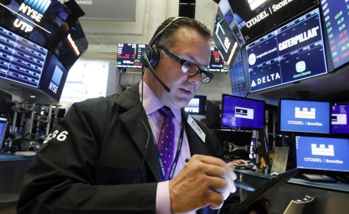 纽约股市三大股指均收跌超1%,道指跌1.23%