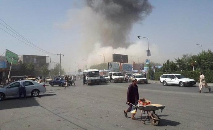 阿富汗喀布尔汽车爆炸致95人受伤,塔利班宣布负责