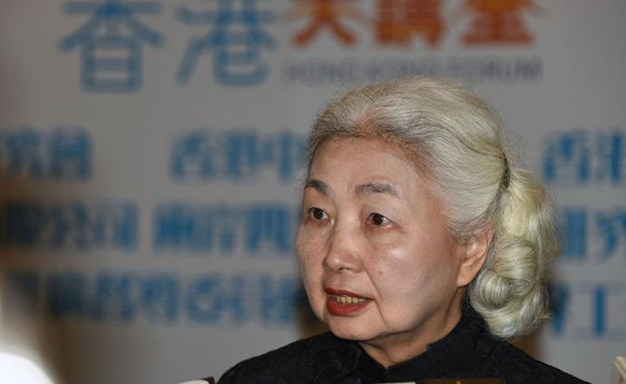 香港首任律政司司長:暴力不能解決問題,只會破壞香港社會