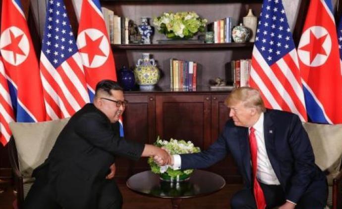 """特朗普称收到金正恩""""十分美好的""""亲笔信,可能会进行新会晤"""