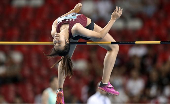 女子跳高上海拿下双金,16岁小将目标锁定亚洲第一