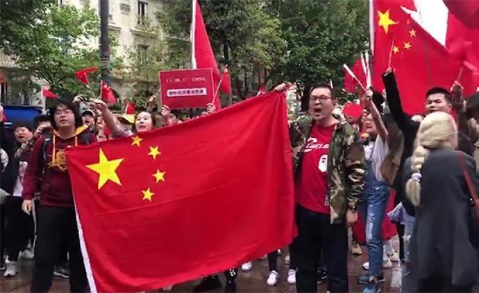 视频|萬眾一心撐香港!世界各地華人舉行愛國遊行