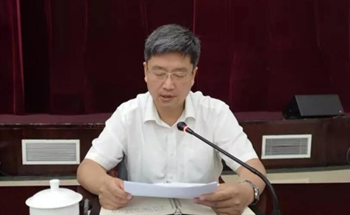 孙勇担任安徽黄山市委副书记,孔晓宏不再担任